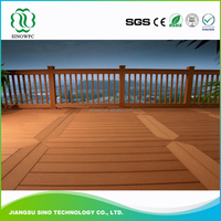 High Quality Wood Plastic Wood Flooring For Trailers