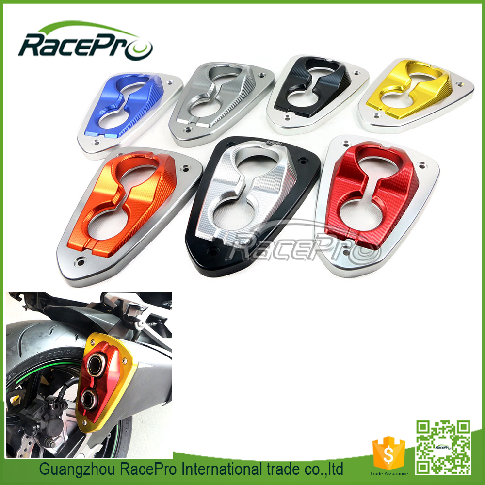 Motorcycle Decorative Cover Exhaust Muffler Power Tips for Kawasaki Z800