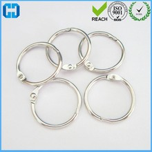 Paper Book Files O Shaped Loose Leaf Rings Keyring Made In China