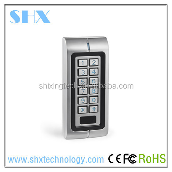 standalone rfid access control gate keypad with waterproof controller