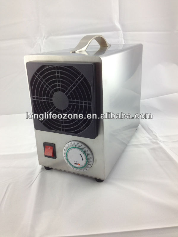Air pump built Long life 2500mg/Hour corona ozone generator
