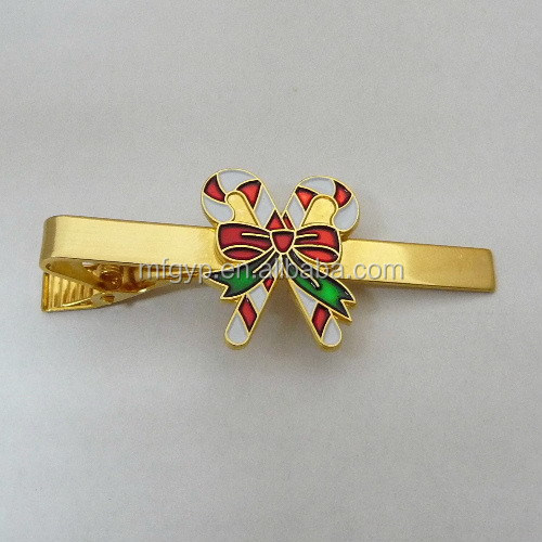 new products custom bolo tie clip foe christmas gift
