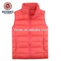 women Ultra light padded down vest for winters