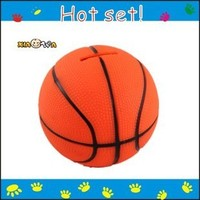 Factory Direct Custom Coin Bank Basketball