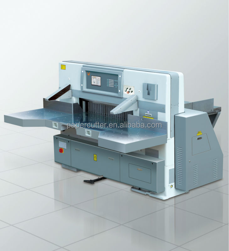 QZYK1150DW-8 Automatic microcomputer double hydraulic guillotine for paper cutting