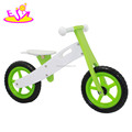 Wholesale cheap children wooden balance bike without pedals W16C065