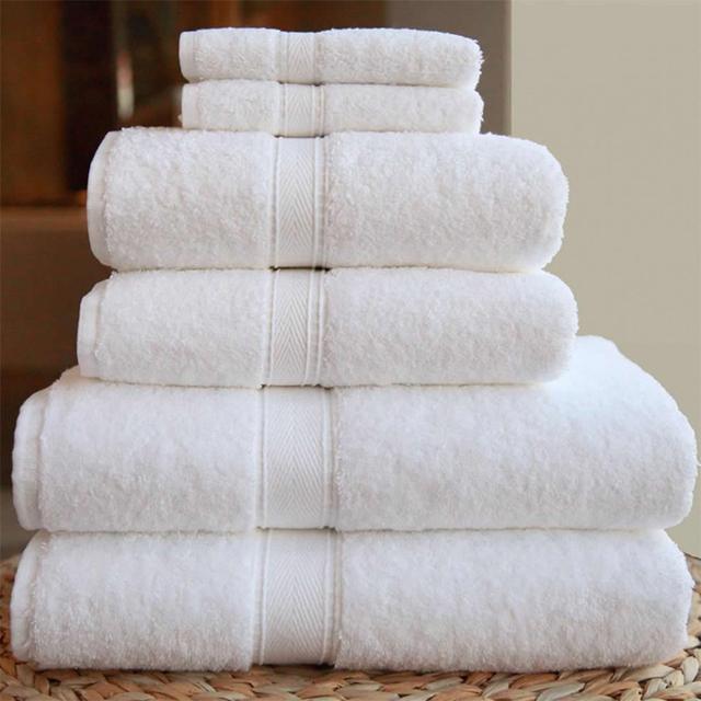 5 star hotel high quality wholesale white 100% cotton tea towel