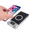 Portable 10000mah power bank qi fast charging wireless charger powerbank for mobile phone
