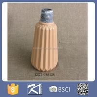 home & garden glazed color cheap ceramic stoneware vase, flower vase