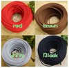 High quality 2 Cores PVC Insulated twisted fabric Electric Cables Civil Electric Wire
