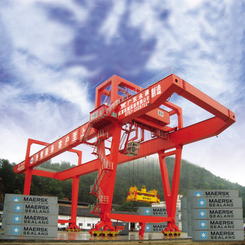 Best Quality High Performance protal double grider container gantry crane