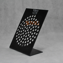 Wholesale Black Acrylic Cosmetic Display Stand for Eyebrow Pencil