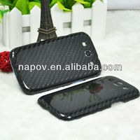 100% 3K real galaxy s3 case carbon fiber,galaxy s3 hard carbon case,i9300 carbon fiber case