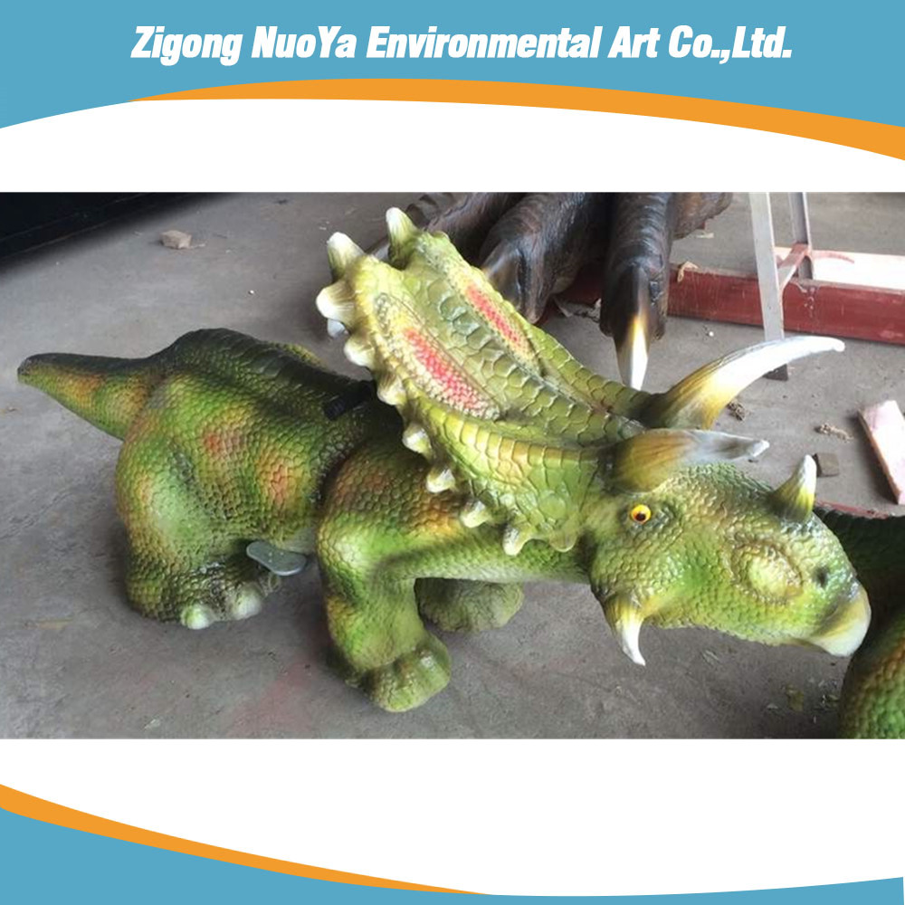 Amusement Park Rides Indoor Animatronic Walking Dinosaur Rides