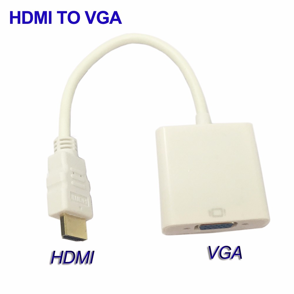 1080P HDMI TO VGA Converter Cable HDMI To VGA