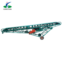 Grain Inclined Portable Belt Conveyor from Hongyuan