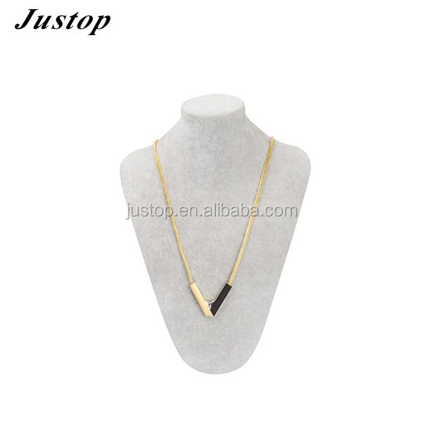 2016 Unique aluminium plating gold jewellery dubai chain necklace