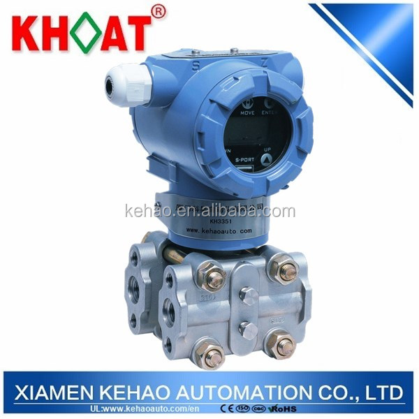 KH3351: Smart Differential Pressure Transmitter with 4-20mA, Hart Protocol