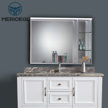 Competitive Hot Product Modern Vanity Bathroom Mirror Cabinet With Sink