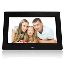 Cheap photo video <strong>player</strong> 10 inch digital photo frame gift with calender&amp;clock