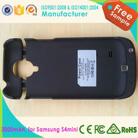 2015 new high battery case for samsung galaxy S4mini, wholesale battery phone charger
