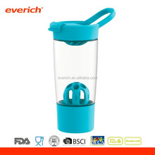 Everich Free Samples Private Lable Plastic Protein Shaker Bottle