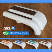 Wall Mounted High Quality Anti-bacterial Flame Retardant stainless steel stair railings For Hospital Corridor