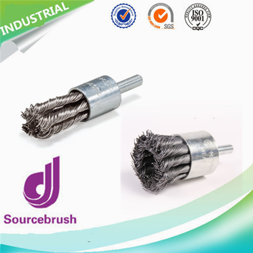 Custom Industrial Knot End Wire Polishing Marine Metal Brushes With Stainless Steel Manufacturer