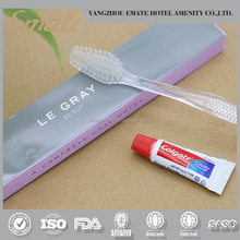 High quantity dental kit with 5g Colgate toothpaste and custom toothbrush