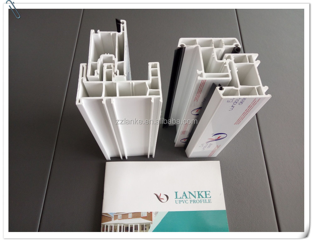 Plastic Extrusion 80mm Pvc Profiles For Windows And Doors