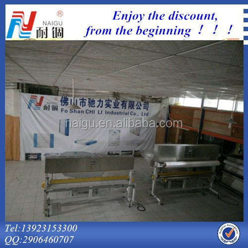 Modified atmosphere control packaging machine