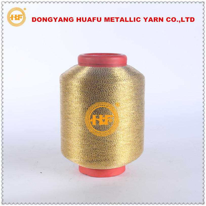 MH-type metalic yarn for lace polyester thread