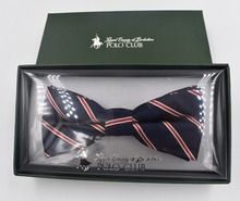 Hight quality with competitive price polyester pre tied bow tie