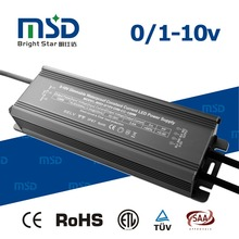 0/1-10V pwm dimmable system led driver 120W Constant Current power supply