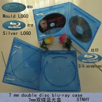 10mm double blu-ray dvd case