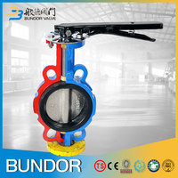 6 Inch EPDM Seat Price Wafer Type Butterfly Valve Handles