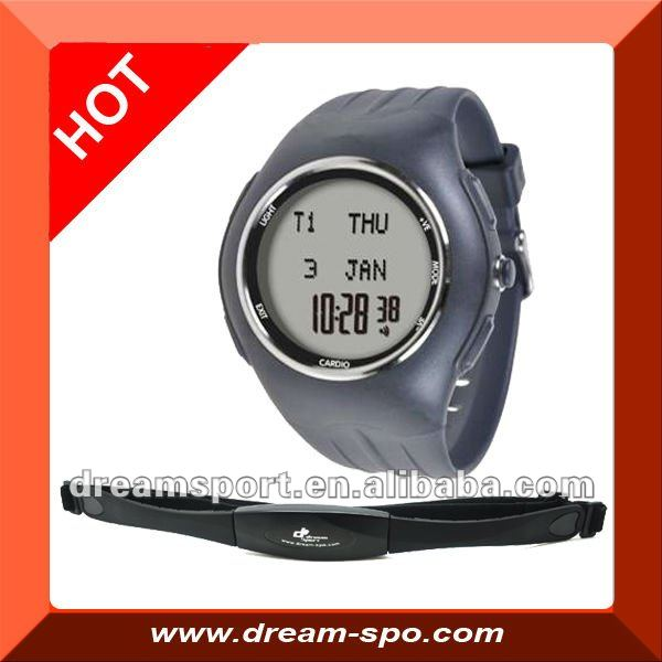 DHF-111 2.4GHz wireless heart rate monitor with calorie/stopwatch /timer