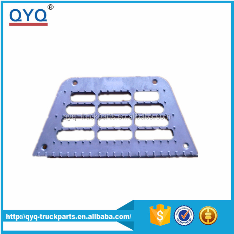 Best Quality Factory price Euro truck body parts oem 673143 step middle for DAF XF95 XF105 alloy footstep grille