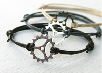 Gear Bracelet - Good for Man Women Anklet (many colors to choose)