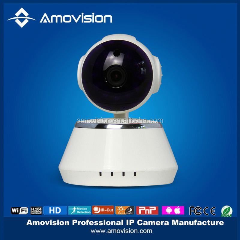 2015 Wireless P2P Network IP Camera Pan/Tilt Baby Pet Monitor Wifi Cam Iphone/Android Home Use IP Camera From Shenzhen