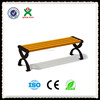 solid wood bench furniture/backless park bench for hot sale(QX-144A)
