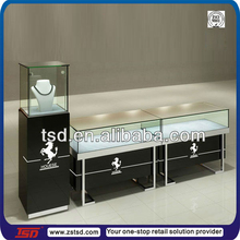 TSD-W219 retail fashion glass jewelry display cabinet/ jewelry shop display/ jewelry display case