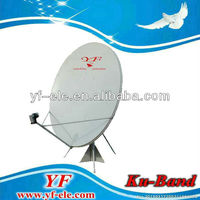 KU150cm satellite antenna & KU band 150cm satellite dish