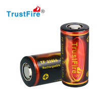 Trustfire 32650 3.7v 6000mah lithium polymer battery rechargeable battery