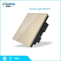 zigbee wireless samrt home devices smart switch for light turn on/off