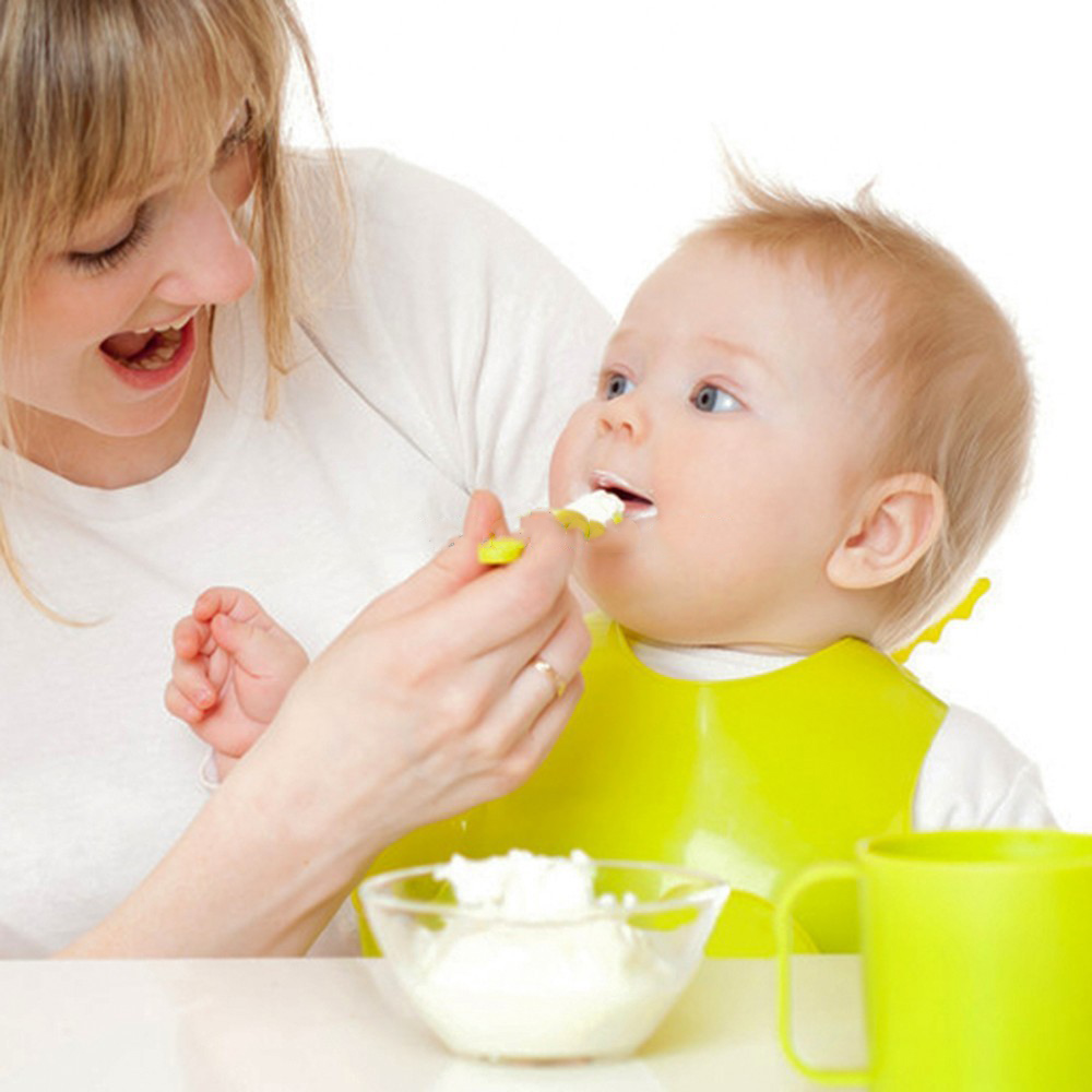 100% Food Grade Silicone Feeding Spoon  Baby Spoon for Kids
