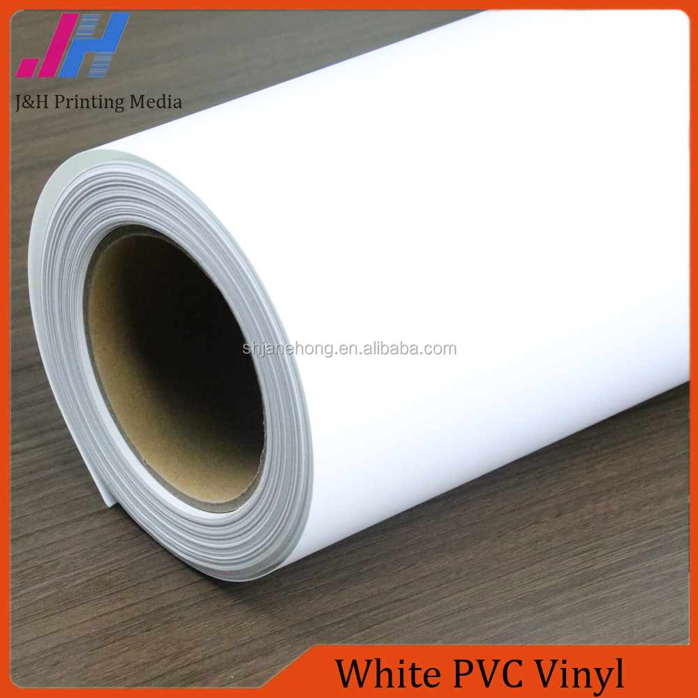 High Glossy Removable Transparent Glue White PVC Vinyl