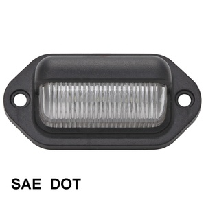 Mini LED License Plate Light 12 volt truck lights