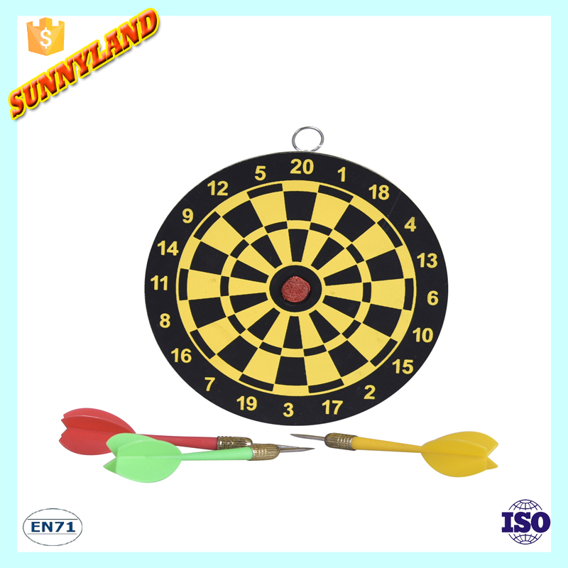 Hot Selling Mini Paper Dartboard With darts/Indoor Tip Dart