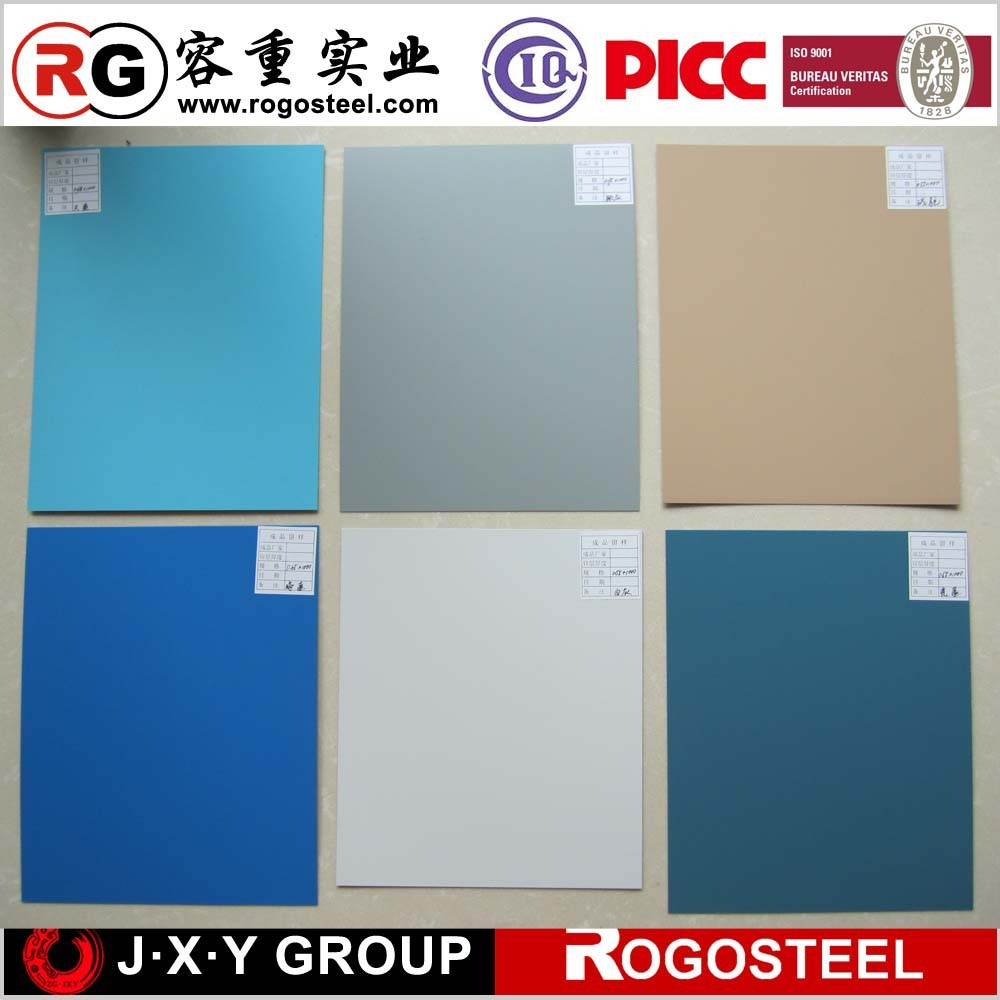 hot sales of hot dipped ccolor coated z50 steel plate ral color code
